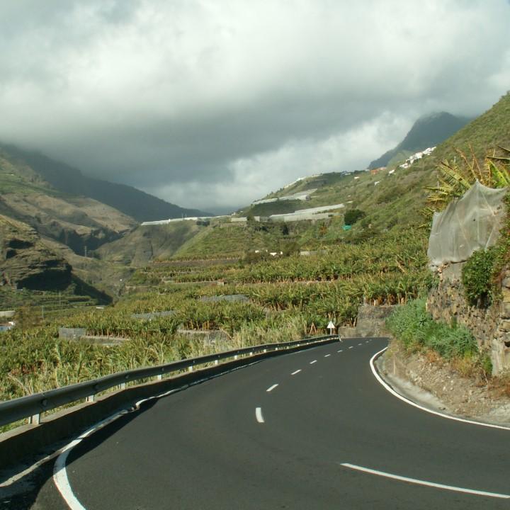 Mietwagen auf La Palma